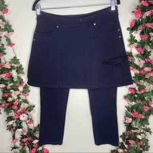 🌹Athleta Skirt With Leggings Black Athletic Med
